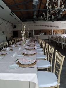 mesa banquete boda toledo