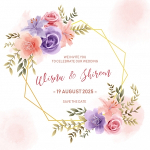 Invitaciones de boda 2021