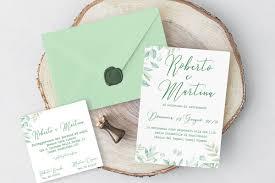 Invitaciones de color neo mint