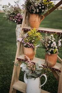 Flores silvestres en bodas